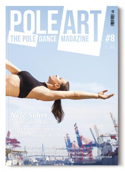 Pole Art Magazine Nr. 8 mit Nele Sehrt