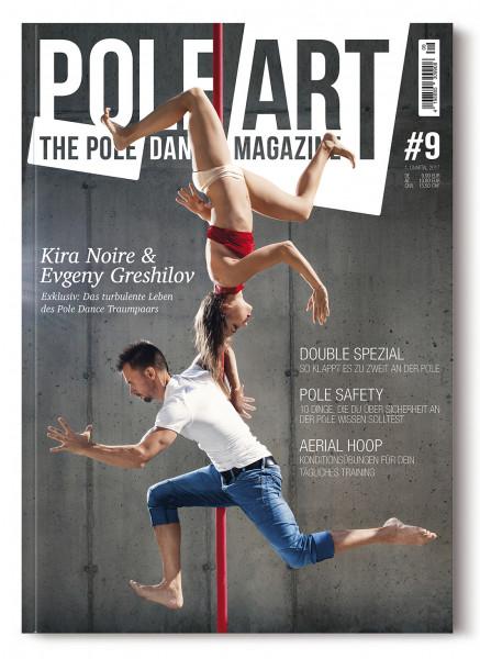 Pole Art Magazine Nr. 9 mit Kira Noire und Evgeny Greshilov