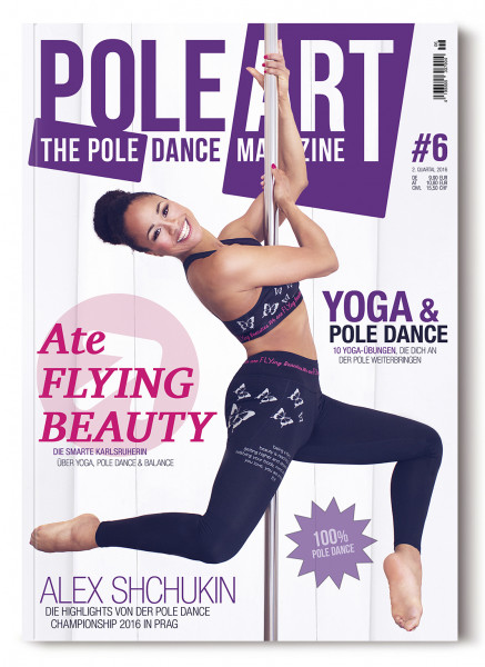 Pole Art Magazine Nr. 6 mit Ate Flying Beauty