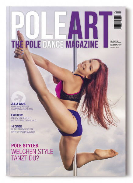 Pole Art Magazine Nr. 4 mit Julia Wahl