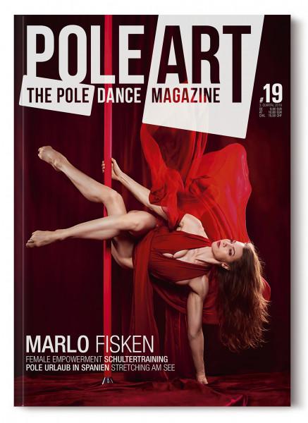 Pole Art Magazine Nr. 19 mit Marlo Fisken