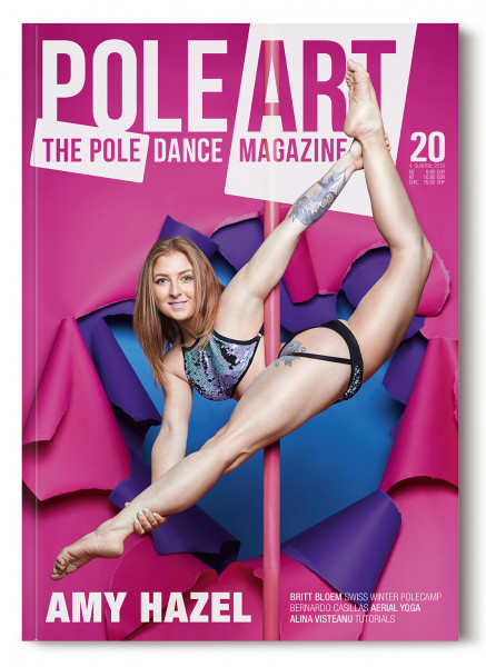 Pole Art Magazine Nr. 20 mit Amy Hazel