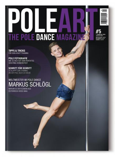 Pole Art Magazine Nr. 5 mit Markus Schlögl
