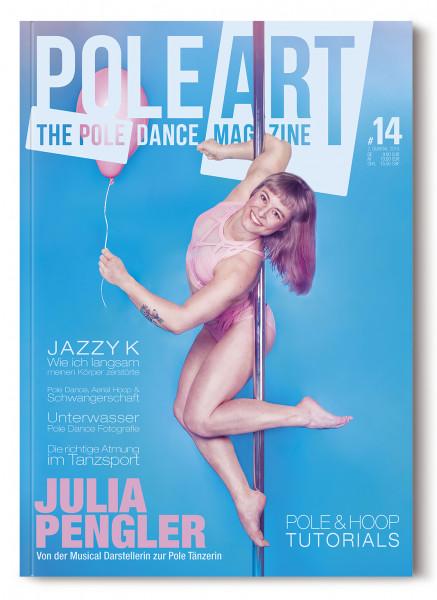 Pole Art Magazine Nr. 14 mit Julia Pengler
