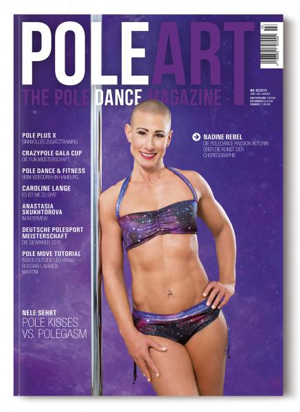 Pole Art Magazine Nr. 3 mit Nadine Rebel