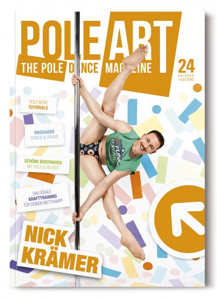 Pole Art Magazine Nr. 24 mit Nick Krämer
