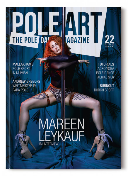 Pole Art Magazine Nr. 22 mit Mareen Leykauf