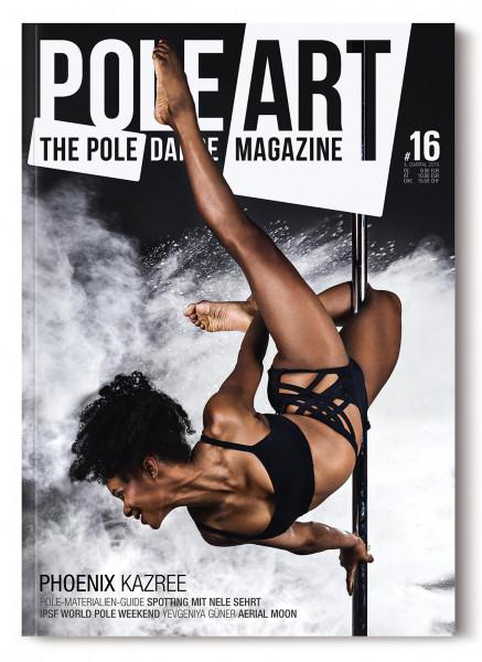 Pole Art Magazine Nr. 16 mit Phoenix Kazree