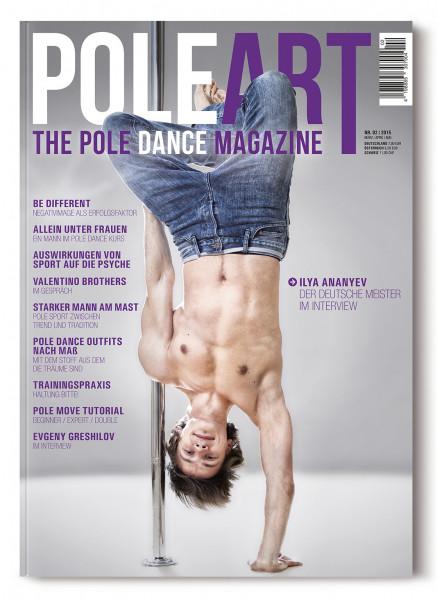 Pole Art Magazine Nr. 2 mit Ilya Ananyev