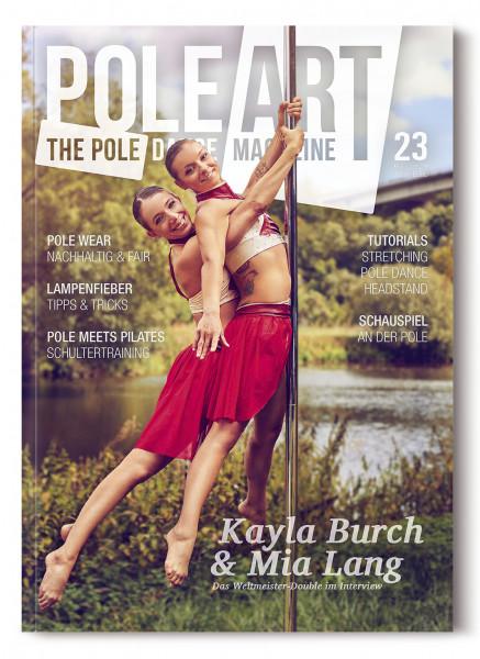 Pole Art Magazine Nr. 23 mit Kayla Burch und Mia Lang