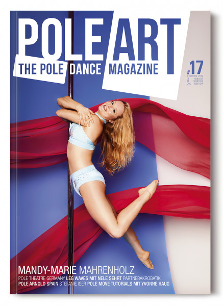 Pole Art Magazine Nr. 17 mit Mandy-Marie Mahrenholz