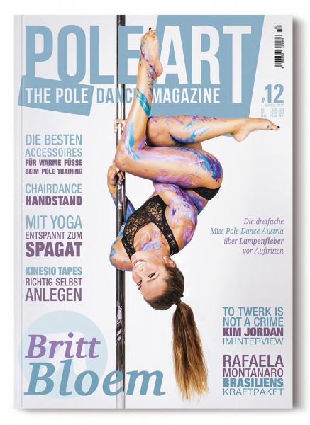 Pole Art Magazine Nr. 12 mit Britt Bloem