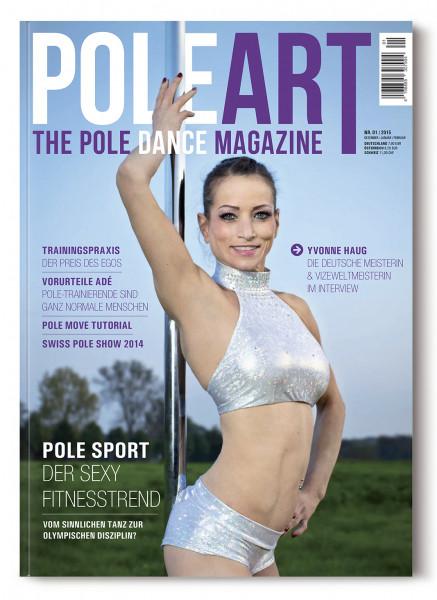 Pole Art Magazine Nr. 1 mit Yvonne Haug