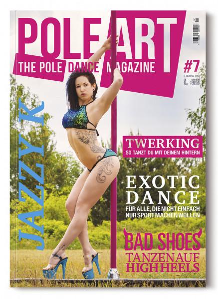 Pole Art Magazine Nr. 7 mit Jazzy K