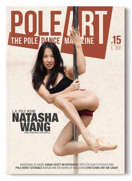 Pole Art Magazine Nr. 15 mit Natasha Wang