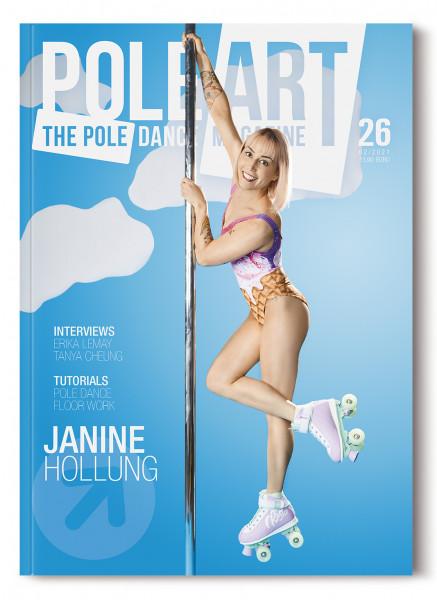 Pole Art Magazine Nr. 26 mit Janine Hollung